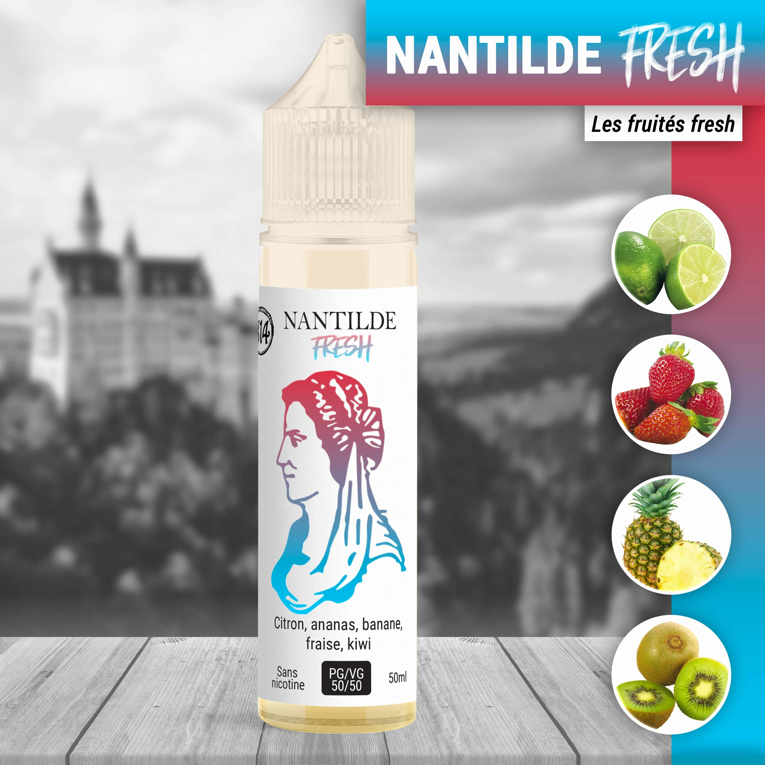 Nantilde fresh 50ml à booster