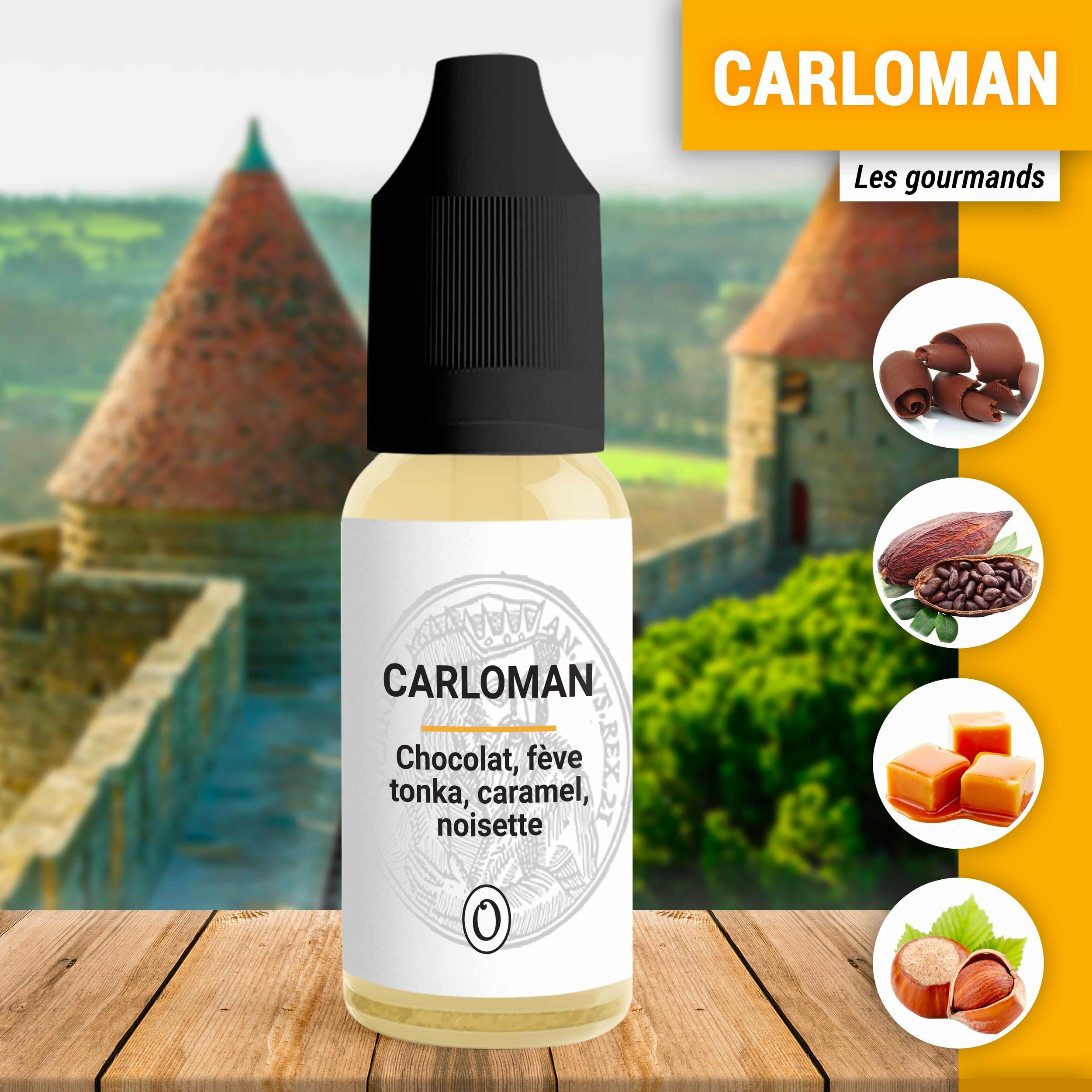 E-liquide Carloman 10ml