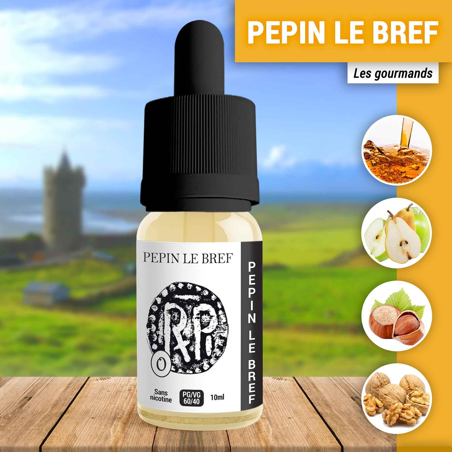 E-liquide Pepin Le Bref 10ml