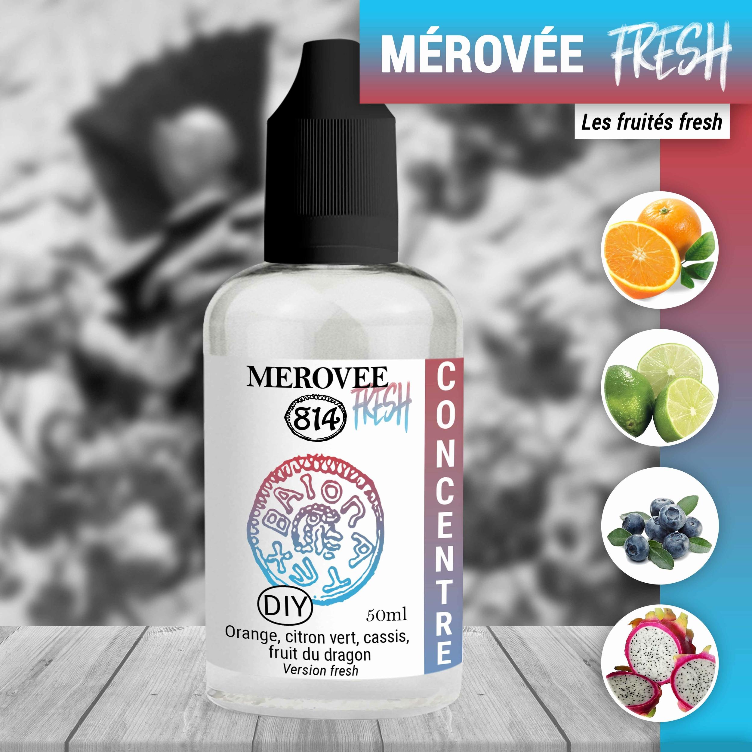 Concentré Mérovée fresh 50ml