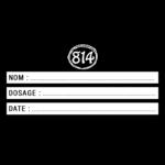 Etiquette DIY Impression Noir