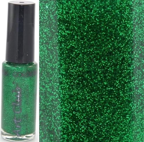 ART CLUB - Nail Art Liner pour Ongles - GREEN GLITTER