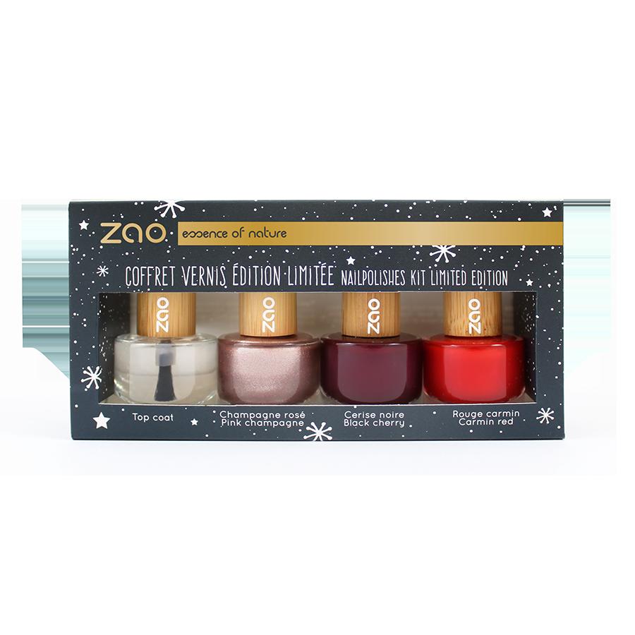 ZAO - Coffret 3 vernis + Top Coat - EDITION LIMITEE