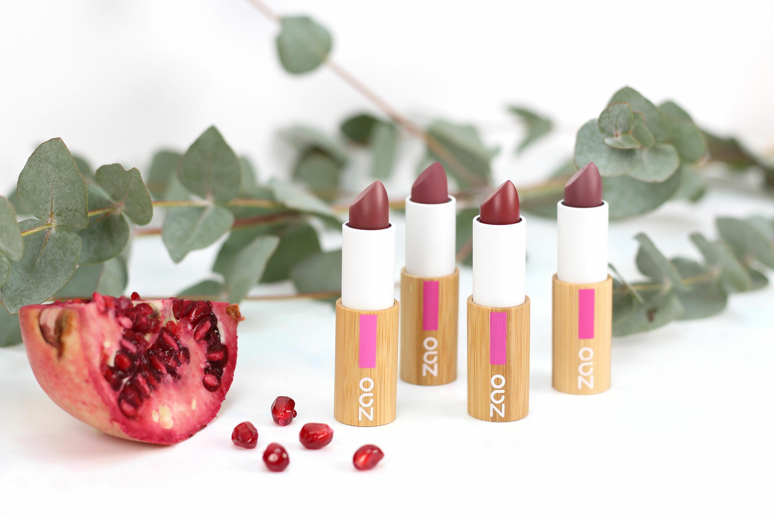 ZAO - Rouges à Lèvres Classic - 14 Teintes Disponibles....