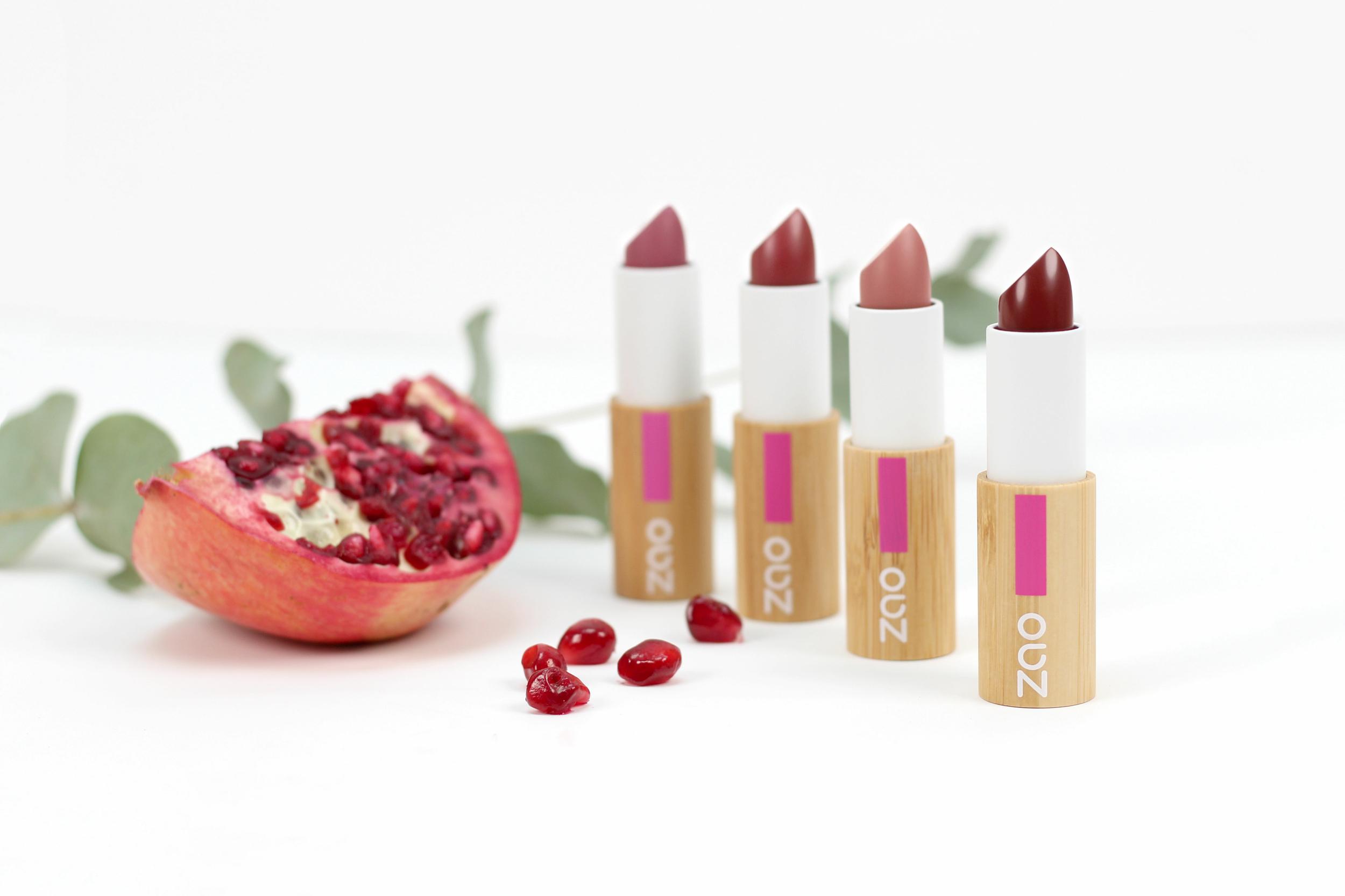 ZAO - Rouge à Lèvres Cocoon - 4 teintes disponibles