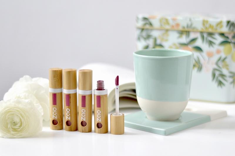 ZAO - Encre à lèvres - 5 teintes disponibles