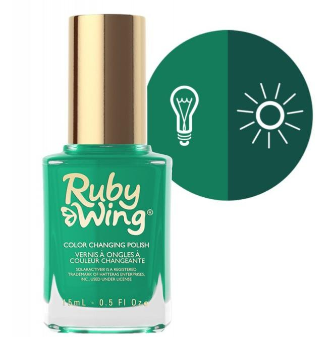 RUBY WING - Vernis Ongles Photochromique Collection Spring Fling - BEHIND THE BLEACHERS