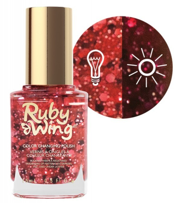 RUBY WING - Vernis Ongles Photochromique Collection Sweet Fantasy - CENTERFOLD