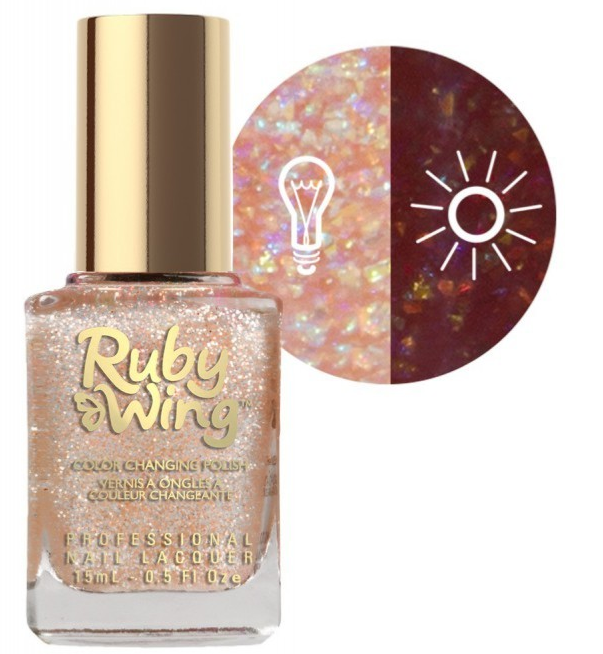 RUBY WING - Vernis Ongles Collection Cupcakes & Champagne - CHOCOLATE MOUSSE