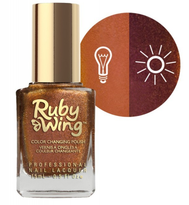 RUBY WING - Vernis Ongles Collection Cupcakes & Champagne - CINNAMON BUN