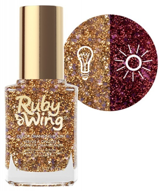 RUBY WING - Vernis Ongles Photochromique Collection Spring Fling - GOING STEADY