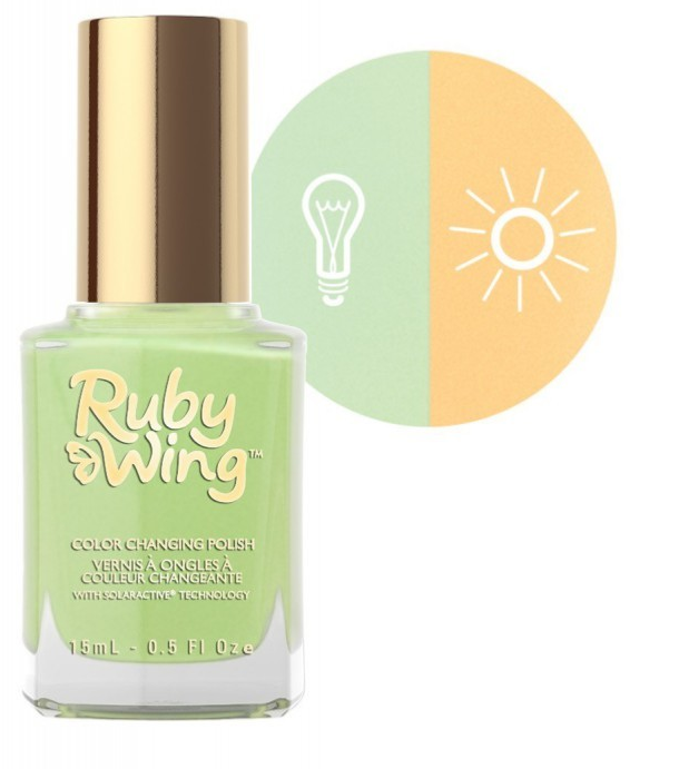 RUBY WING - Vernis Ongles Photochromique Collection Wicked West - RODEO