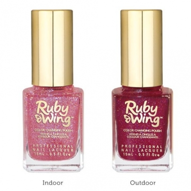 RUBY WING - Vernis Ongles Collection Cupcakes & Champagne - ROSE