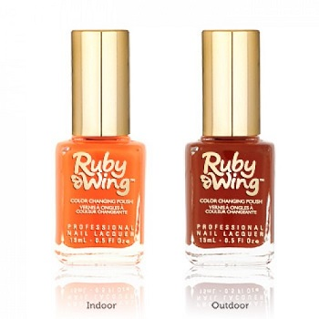 RUBY WING - Vernis Ongles Photochromique Collection Festival Paint - SUMMER LOVE