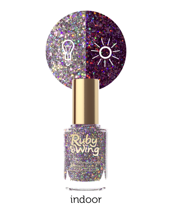 RUBY WING - Vernis Ongles Photochromique - Les classiques - FESTIVAL