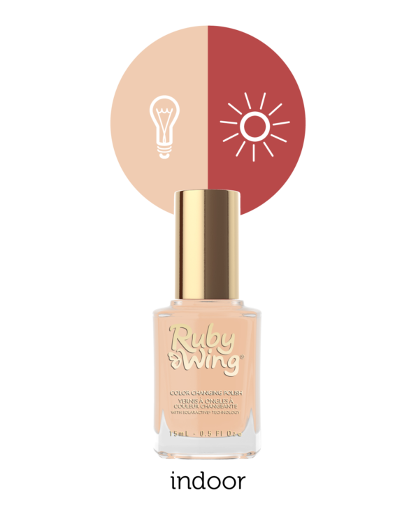 RUBY WING - Vernis Ongles Photochromique Collection Beige With Benefits - SANDY SHORE