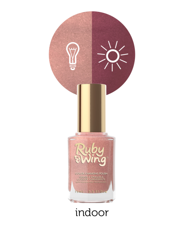 RUBY WING - Vernis Ongles Photochromique Collection Beige With Benefits - AFTER SUNSET