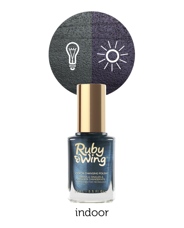 RUBY WING - Vernis Ongles Photochromique Collec Carpe Denim - DISTRESSED