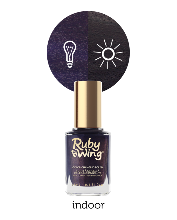 RUBY WING - Vernis Ongles Photochromique Collec Carpe Denim - DARK WASH