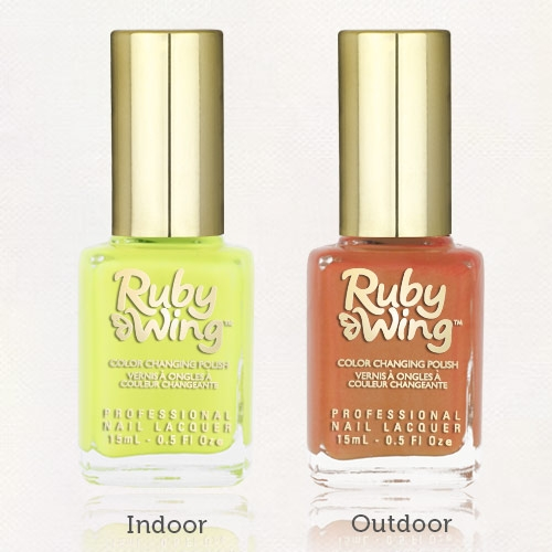 RUBY WING - Vernis Ongles Photochromique Collec Festival Paint - ELECTRIC FIREFLY