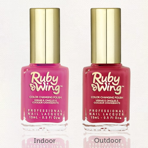 RUBY WING - Vernis Ongles Photochromique Collection Festival Paint - GROUPIE