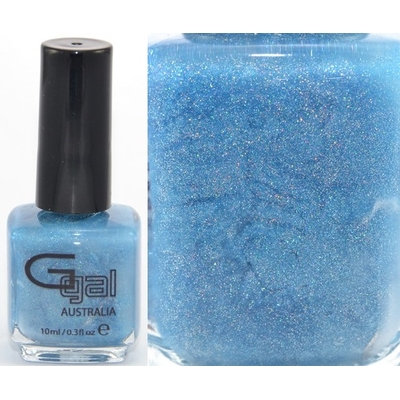 GLITTER GAL - Vernis Ongles Collection 3D Holographic - BLUE SUEDE SHOES 10 ml