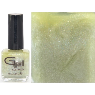 GLITTER GAL - Vernis Ongles Collection 3D Holographic - GREEN SUEDE SCHOES 10 ml