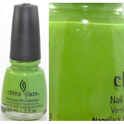 CHINA GLAZE - Vernis Ongles Collection Electropop - GAGA FOR GREEN