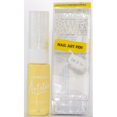 MODELS OWN - Liner pour Ongles Nail Art Pen - PASTEL YELLOW