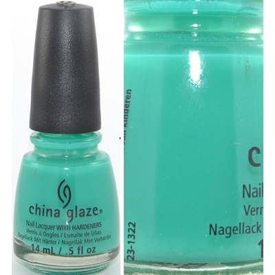 CHINA GLAZE - Vernis Ongles Collection Sunsational - KEEPIN' IT TEAL