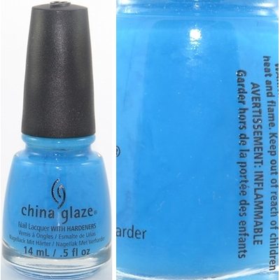 CHINA GLAZE - Vernis Ongles Collection Sunsational - ISLE SEE YOU LATER