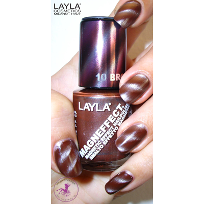 LAYLA - Vernis Ongles Magnetique Collec Magneffect - 10 BROWN SUGAR