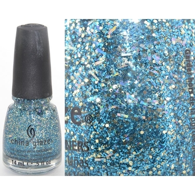 CHINA GLAZE - Vernis Ongles Collection Happy Holiglaze - BELLS WILL BE BLINGING