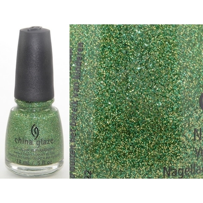 CHINA GLAZE - Vernis Ongles Collection Happy Holiglaze - THIS IS TREE-MENDOUS