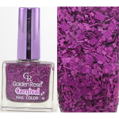 GOLDEN ROSE - Vernis Ongles Collection Carnival - 08