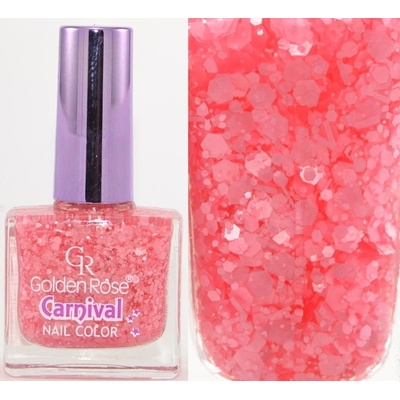 GOLDEN ROSE - Vernis Ongles Collection Carnival - 04