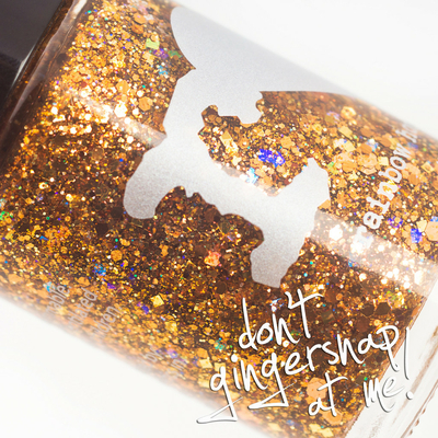 RAINBOW HONEY - Vernis Ongles Collec Limited Editions - DON'T GINGERSNAP AT ME!