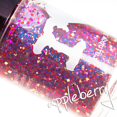 RAINBOW HONEY - Vernis Ongles Collection Limited Editions - APPLEBERRY