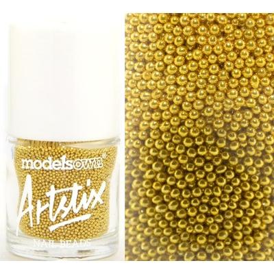 MODELS OWN - Nail Art Micro billes Collection Artstix Nail Beads - GOLD FIZZ