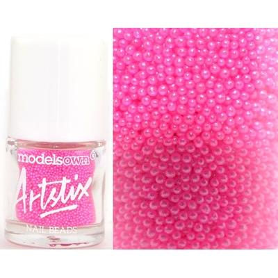 MODELS OWN - Nail Art Micro billes Collection Artstix Nail Beads - PINK FIZZ