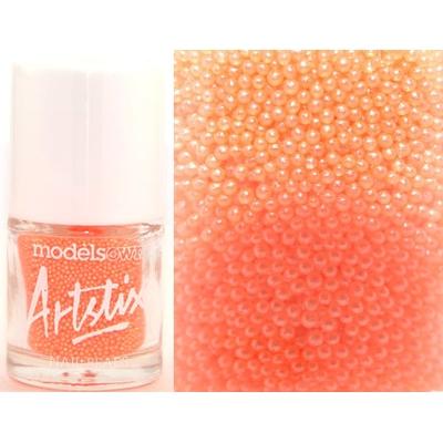 MODELS OWN - Nail Art Micro billes Collection Artstix Nail Beads - ORANGE FIZZ