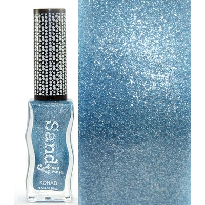 KONAD - Vernis Ongles Effet Sable Collection Sandy - REFINED BLUE