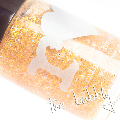 RAINBOW HONEY - Vernis Ongles Collection Limited Editions - THE BUBBLY 15 ml