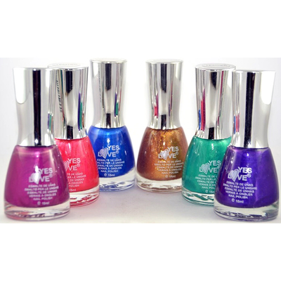 YES LOVE - Vernis Ongles effet Mat Collec Leather - COLLECTION COMPLETE