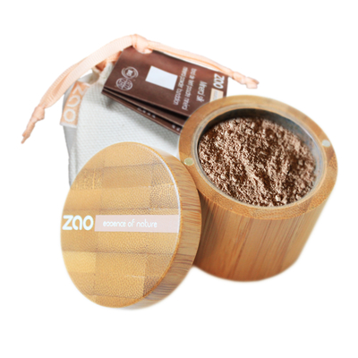 ZAO MAKE UP - Minéral Silk - 503 BEIGE ORANGE