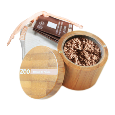 ZAO MAKE UP - Minéral Silk - 505 BEIGE NOISETTE
