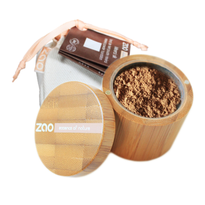 ZAO MAKE UP - Minéral Silk - 506 BEIGE BRUN