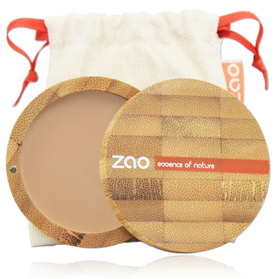 ZAO MAKE UP - Poudre Compacte - 302 BEIGE ORANGE