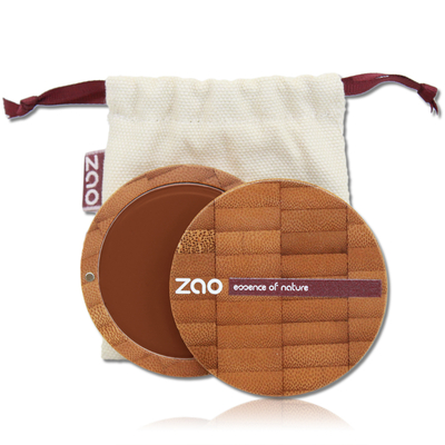ZAO MAKE UP - Fond de Teint Compact - 735 CHOCOLAT