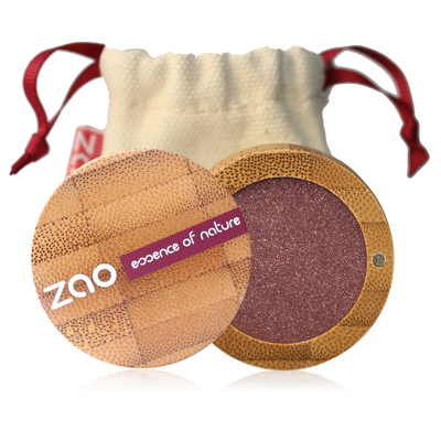 ZAO MAKE UP - Fard à Paupière Nacré - 104 GRENAT NACRE